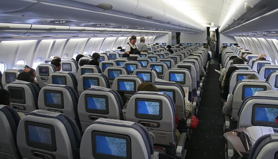Avião interior Viracopos